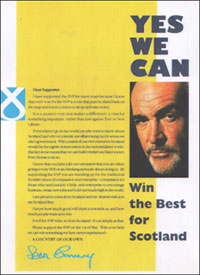 Sean Connery: Yes we can
