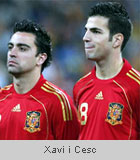 Xavi i Cesc